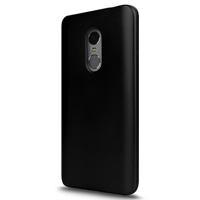 Silicone case for xiaomi redmi note 4 4x black - Xiaomi redmi note 4 case ...