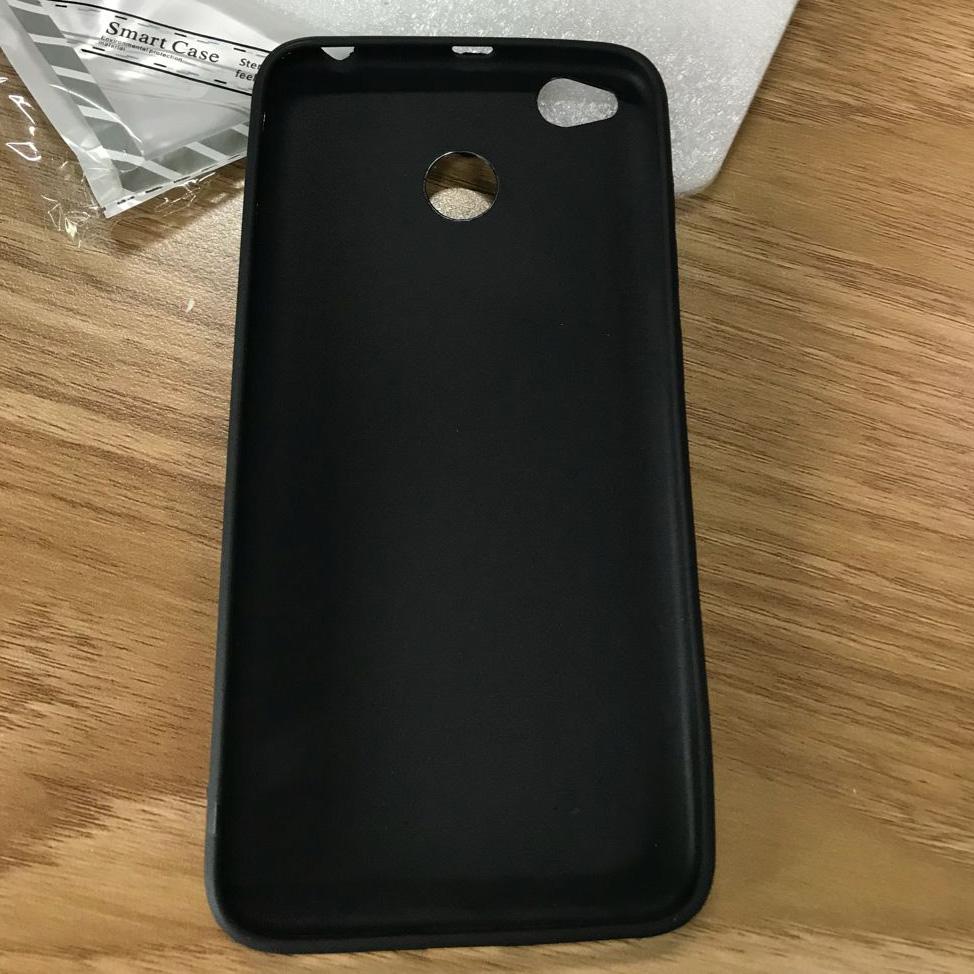 low priced 888e3 cd5d0 Silicone Case for Xiaomi Redmi 4x - Black