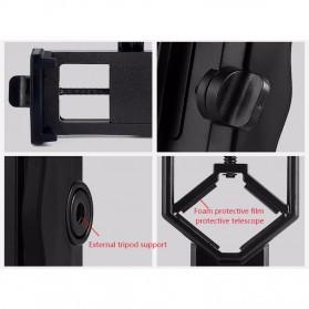 TaffSTUDIO Smartphone Holder untuk Teropong Binocular Monocular Telescope - CM4 - Black - 9