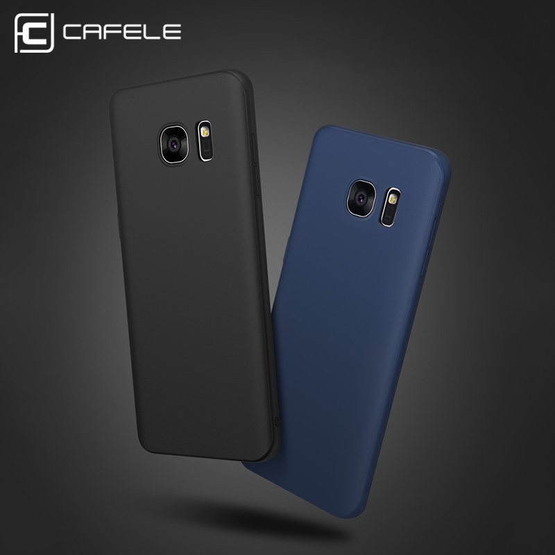 new product ad3e1 310ac CAFELE Scrub Hardcase for Samsung Galaxy S6 Edge Plus - Black ...