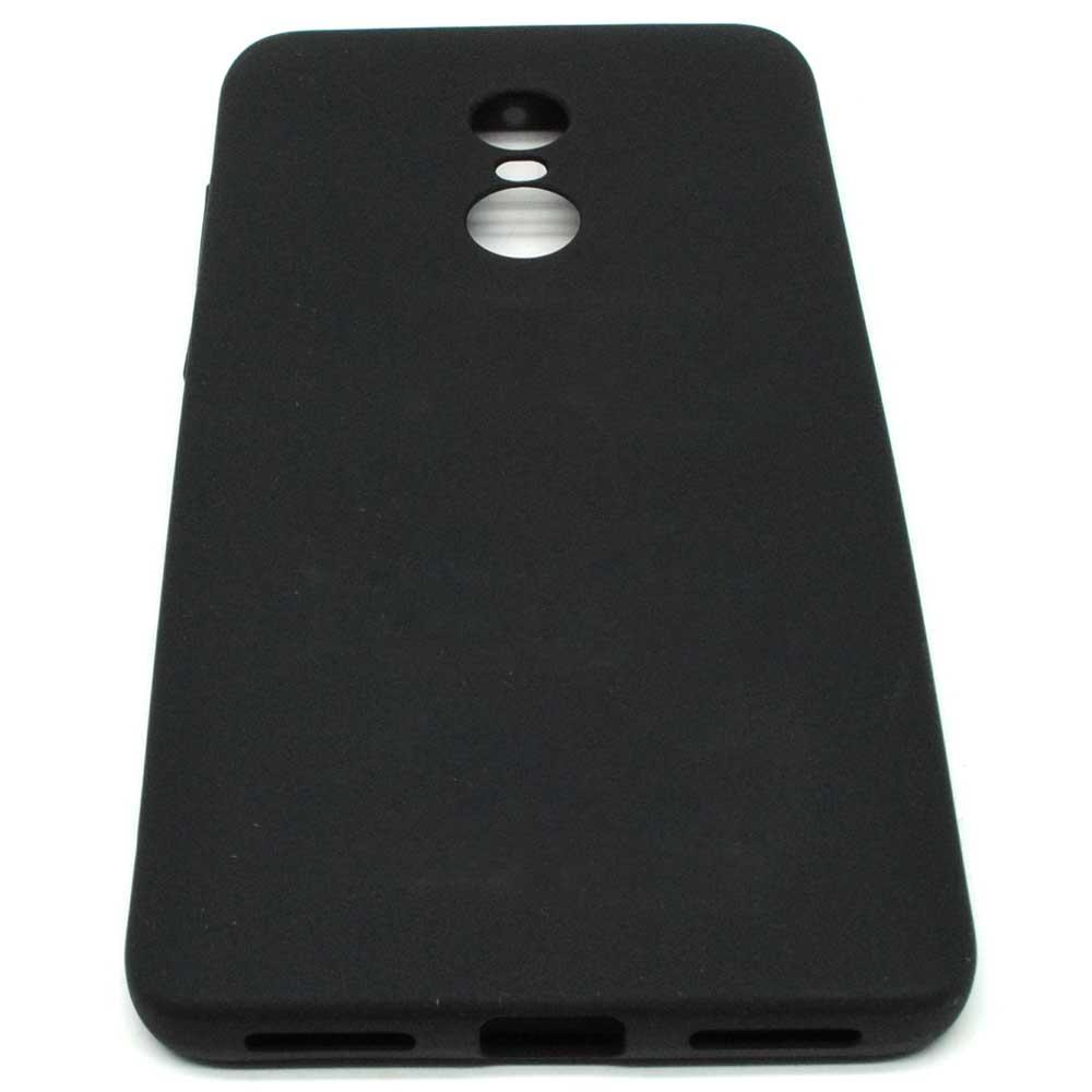 ... TPU Silicone Case for Xiaomi Redmi Note 4 - Black - 1 ...