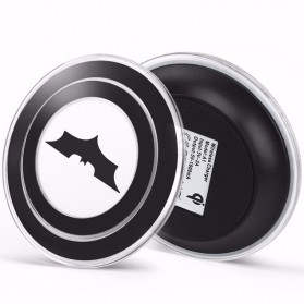 Qi Wireless Charger Dock for Smartphone - Black - 2