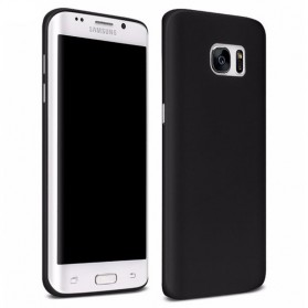 CAFELE Scrub Hardcase for Samsung Galaxy S6 - Black