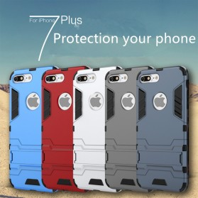 Ironman Armor Hardcase for iPhone 7 Plus / 8 Plus - Gray - 9