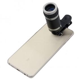 Lensa Tele Zoom 8X untuk Smartphone - Gray Silver - 2