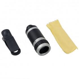 Lensa Tele Zoom 8X untuk Smartphone - Gray Silver - 7