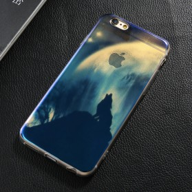 Blue Ray Light Softcase for iPhone 7/8 - Blue - 6