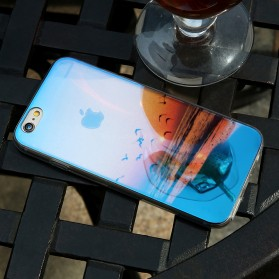 Blue Ray Light Softcase for iPhone 7 Plus / 8 Plus - Red - 2