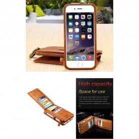 Floveme Flip Case Leather for iPhone 7/8 - Black - 7