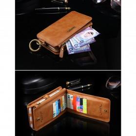 Floveme Flip Case Leather for iPhone 7/8 - Black - 9