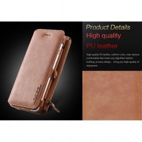 Floveme Flip Case Leather for iPhone 7 Plus/8 Plus - Black - 3