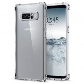 Anti Crack Case for Samsung Galaxy Note 8 - Transparent