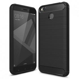 Luxury Protective Softcase for Xiaomi Redmi 4X - Black