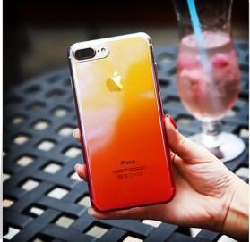 Gradient Mirror Hardcase for iPhone 7 Plus / 8 Plus - Pink - 4