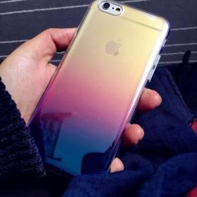 Gradient Mirror Hardcase for iPhone 7 Plus / 8 Plus - Pink - 5