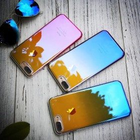 Gradient Mirror Hardcase for iPhone 7/8 - Blue - 3