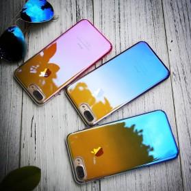 Gradient Mirror Hardcase for iPhone 6 Plus / 6s Plus - Blue - 3