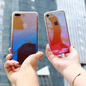 Gradient Mirror Hardcase for iPhone 6 Plus / 6s Plus - Blue - 7