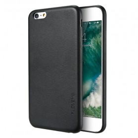 Floveme Leather Hardcase for iPhone 7 Plus / 8 Plus - Black