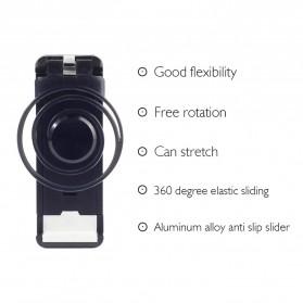 Joystick Analog Smartphone dengan Clamp - Black - 4