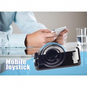 Joystick Analog Smartphone dengan Clamp - Black - 6