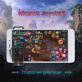 Joystick Analog Smartphone dengan Clamp - Black - 8