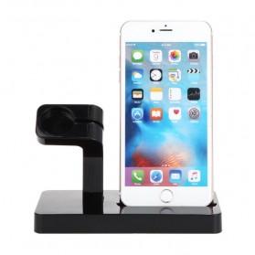 Syrinx Charging Docking for Apple Watch + iPhone Lightning  - RF07608 - Black - 2