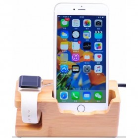 Multifunction Charging Dock for Smartphone and Apple Watch - 2