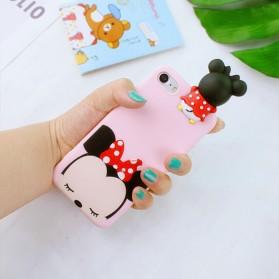 Casing 3D Cartoon Disney Tsum Tsum for iPhone 7/8 - Rose