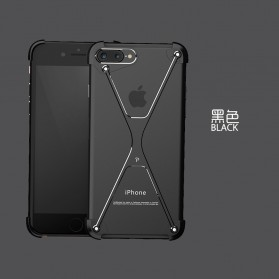 Oatsbasf X Shape Ring Bumper Case for iPhone 7/8 - Black