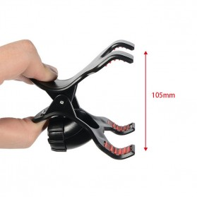 Fleksibel Stand Mikrofon & 2 x Lazypod Smartphone Holder - KH-28 - Black - 5