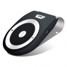 Bluetooth Handsfree Speaker Car Kit - Black