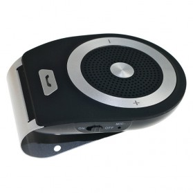 Bluetooth Handsfree Speaker Car Kit - Black - 3