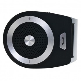 Bluetooth Handsfree Speaker Car Kit - Black - 4