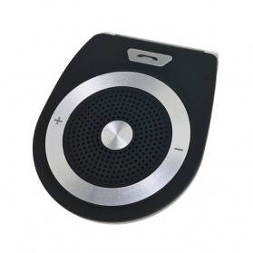 Bluetooth Handsfree Speaker Car Kit - Black - 5