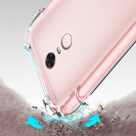 Anti Crack TPU Softcase for Xiaomi Mi5s Plus - Transparent - 3
