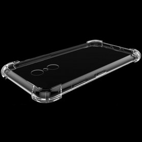Anti Crack TPU Softcase for Xiaomi Mi5s Plus - Transparent - 5