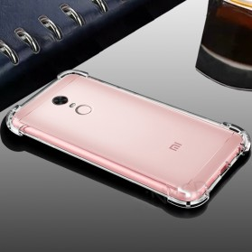 Anti Crack TPU Softcase for Xiaomi Mi5s Plus - Transparent - 6