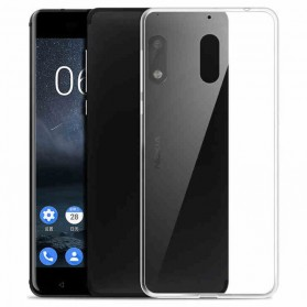 Luxury Ultra Thin TPU Case for Nokia 6 - Transparent