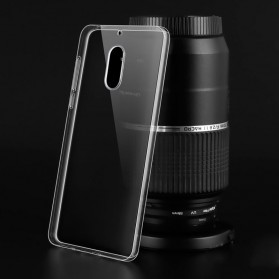 Luxury Ultra Thin TPU Case for Nokia 6 - Transparent - 2