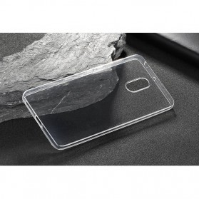 Luxury Ultra Thin TPU Case for Nokia 6 - Transparent - 7