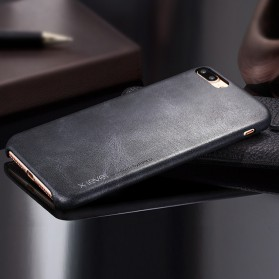X-Level Vintage Leather Case for iPhone 7/8 - Black