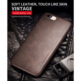 X-Level Vintage Leather Case for iPhone 7/8 - Black - 2