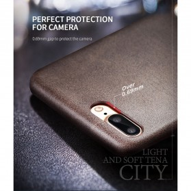 X-Level Vintage Leather Case for iPhone 7/8 - Black - 8