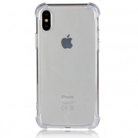 Anti Crack TPU Softcase for iPhone X - Transparent