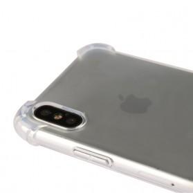 Anti Crack TPU Softcase for iPhone X - Transparent - 4