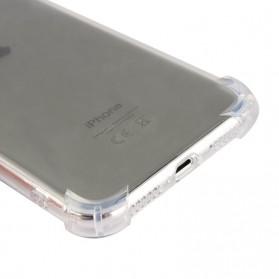 Anti Crack TPU Softcase for iPhone X - Transparent - 5