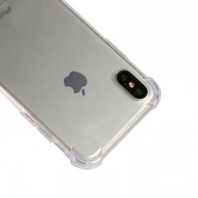 Anti Crack TPU Softcase for iPhone X - Transparent - 6