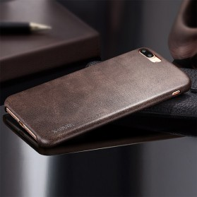 X-Level Vintage Leather Case for iPhone 7 Plus / 8 Plus - Brown