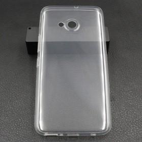 Luxury Ultra Thin TPU Case for HTC U11 Life - Transparent